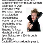 Win a Double Pass to The Witch Project from The Dominion Post (Wellington)