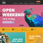 Wellington Zoo $2 Entry Fee This Weekend