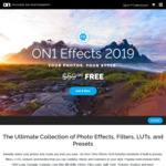 [PC, MAC] Free: ON1 Effects 2019 (Was $59.99 USD) @ ON1
