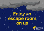 Free Escape Room Game for Two People at Escape Mate via Grabone (Wellington)