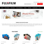 "50 Free 6x4"" Photo Prints (Worth $14.50) + $4.99 Delivery @ Fujifilm Photos"