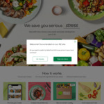 HelloFresh - Give $110 ($70 off First Box, $20 off from Second and Third), Get $70 [Targeted Campaign]