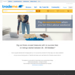 No Success Fees for Items Listed on Trademe between 21 - 23 October