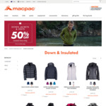 Macpac-  50% Jackets and Vests