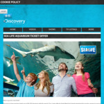 2 for 1 General Admission at Kelly Tarlton's Sealife Auckland