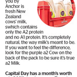 Win a Month's Worth of Anchor A2 Milk from The Dominion Post