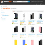 28% off iPhone & Samsung Accessories @ MightyApe