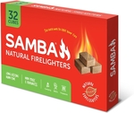 Samba Wooden Firelighter - 32 Pack $.50 at Bunnings