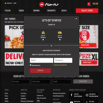 Free Fries with Any Online Order over $8 @ Pizza Hut