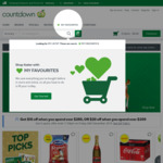 Spend $250 and $299.99, Get $10 off Next Order | Spend $300+, Get $20 off Next Order @ Countdown