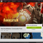 [PC] Free: Total Annihilation: Commander Pack at GOG
