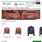 Genuine Lamb/Cow Skin Leather Jackets - USD $50 (~NZD $74) off on Any Purchase (Free Shipping) @ Elochi.com