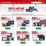 20% off All Lenovo, HP and Acer Laptops (Excludes Chromebooks) + More @ Noel Leeming