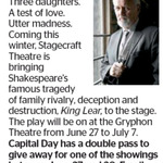 Win a Double Pass to King Lear from The Dominion Post (Wellington)