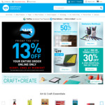 Warehouse Stationary 13% off Online Only