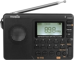 TIVDIO V-115 FM/AM/SW Radio Multiband Radio Receiver Black $18.99 USD (~ $26 NZD) Shipped @ Tomtop