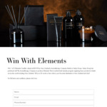 Win 1 of 5 Elements Candles Valued at $39.95 Each from Vanity Group