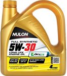 Nulon 5W-30 Full Synthetic Engine Oil 4L $24.59 @ Supercheap Auto