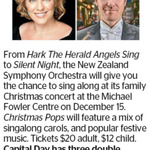 Win 1 of 3 Double Passes to Christmas Pops from The Dominion Post (Wellington)