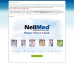 Free NeilMed Sinus Rinse Kit or NasaFlo Neti Pot