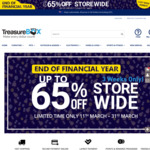 End of Financial Year Sale - up to 65% off Storewide (e.g Garden Shed $449.99, Exercycle $229.99) @ Treasurebox