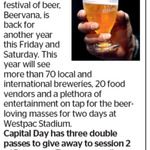 Win 1 of 3 Double Passes to Beervana from The Dominion Post