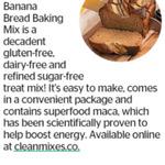 Win 1 of 2 Clean Mixes' Caramel Banana Bread Baking Mixes from The Dominion Post