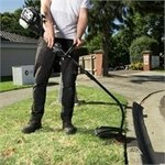 Petrol line Trimmer $88, 4 pc paint brush $9.90 at Bunnings Warehouse
