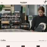 15% off @ Allpress Coffee
