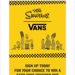 Win $500 Worth of Vans X Simpsons + Early Access When The Collab Launches @ Vans