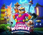 Win 1 of 3 Family Movie Passes to See Wombat Combat from Kiwi Families