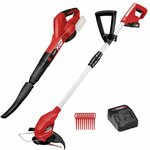 Ozito PXC 18V Blower And Grass Trimmer Kit $99 at Bunnings Warehouse
