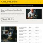 20% off Columbus Coffee @ Columbus Coffee