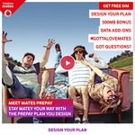 Free Vodafone Mates Sim card (Worth $5)