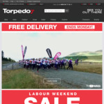 Torpedo7 - free delivery (until 16th) & discounts (until 23rd)
