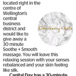 Win a 30 Minute Massage at Elderberry + Kate A Day Spa from The Dominion Post (Wellington)