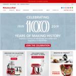 35% off RRP of KitchenAid Mixers and Accessories @ KitchenAid