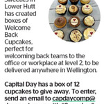 Win a Box of 12 Cupcake Sweeties Cupcakes from The Dominion Post (Wellington)