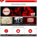 2-for-1 Movie Offer for Eligible Vodafone Customers