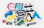 UnixStickers - Pro Pack (10 Stickers) A$1 (NZ~$1.06) + Free Shipping @ Sticker Mule