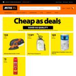 Mortein Fly Spray - $3, Benchtop Cooler - $69, Jobmate Cordless Detail Sander - $59 @ Mitre 10