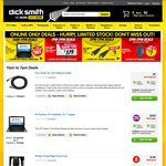 4x AA Eneloop Batteries + Charger $30, 4pk Alkaline AA $.99, $3 1.5m HDMI Cable from Dick Smith