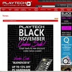 10-15% off Components @ Playtech