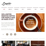 Free Short Black Coffee on Thursday (21/6) @ Emporio & Pavement (Wellington)