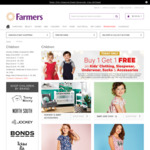 Buy One Get One Free Kids Clothing @ Farmers
