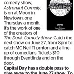 Win a Double Pass to Astronaut Comedy from The Dominion Post (Wellington)