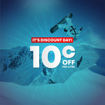 Discount Day - 10c/Litre off Fuel (from 7am 26/9 - 12pm 27/9) @ Gull