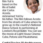 Win 1 of 10 Double Passes to Yuli from The Dominion Post