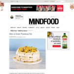 Win a Dole Pavlova Kit (Worth $269) from Mindfood