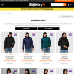 20-60% Site Wide (+5% GST applies, Free Delivery > AU$60) @ Superdry
